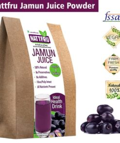 Freeze Dried Jamun or Black Plum from Nattfru