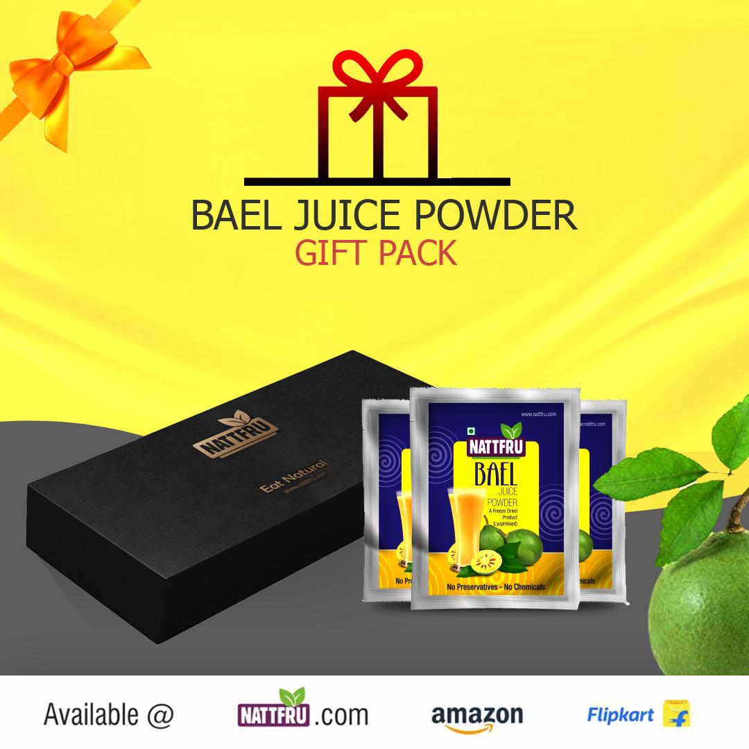 Bael Juice Powder Gift Pack