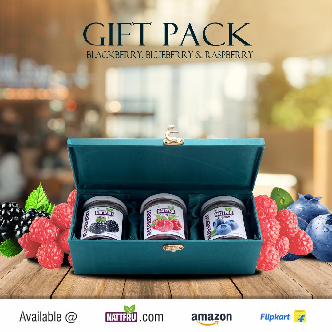 Gift Pack - Blackberry, Blueberry & Raspberry