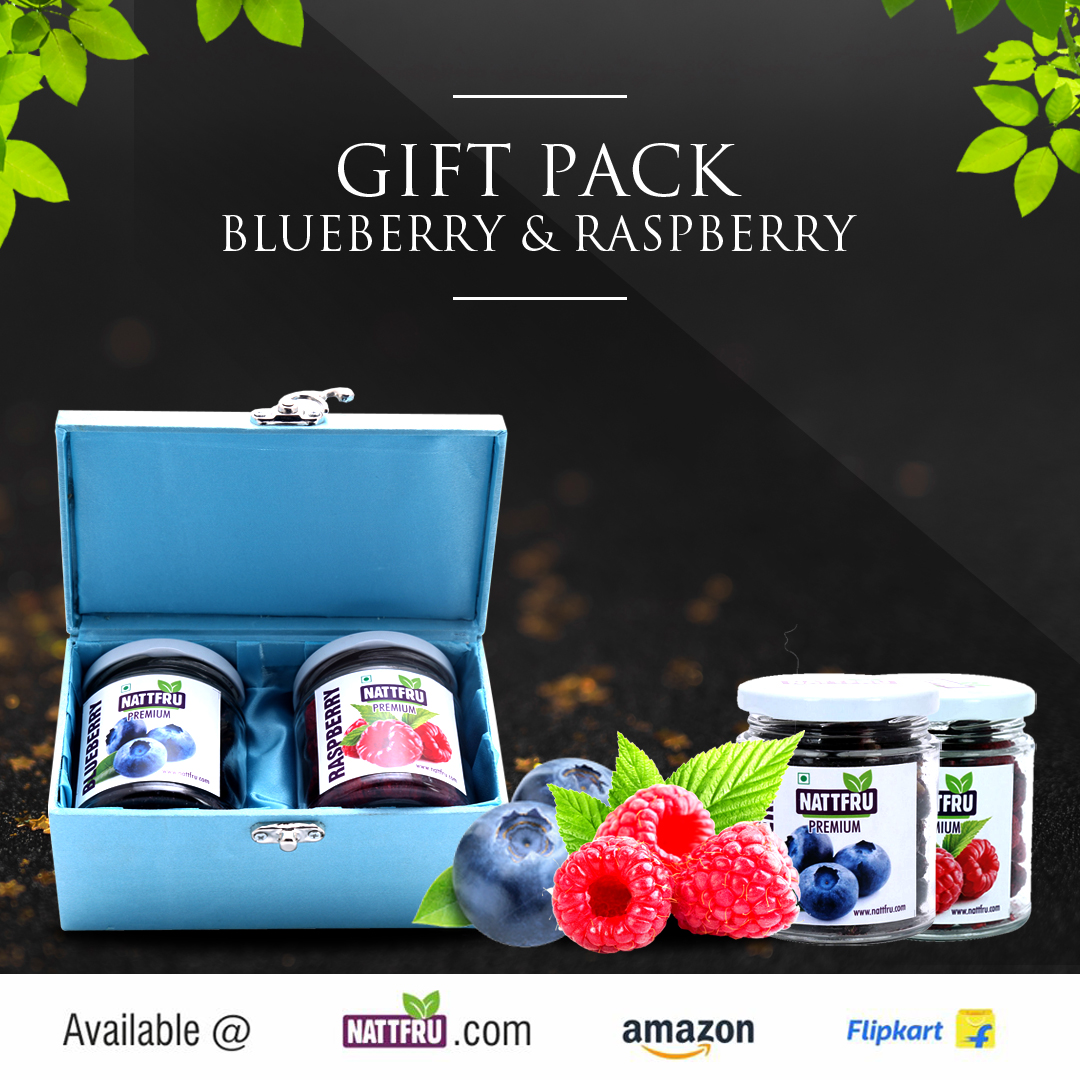 Gift Pack - Blueberry and Raspberry
