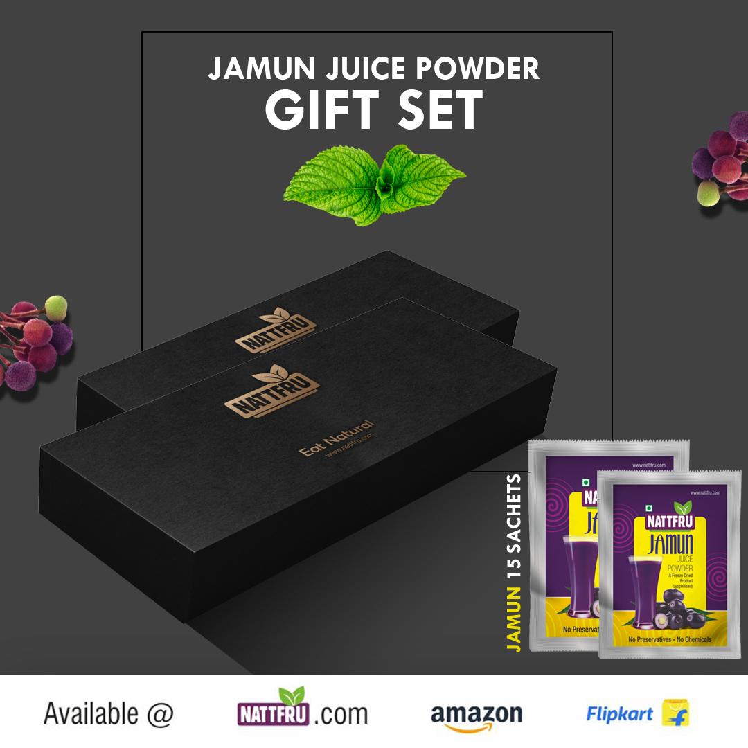 Jamun Juice Powder Gift Set