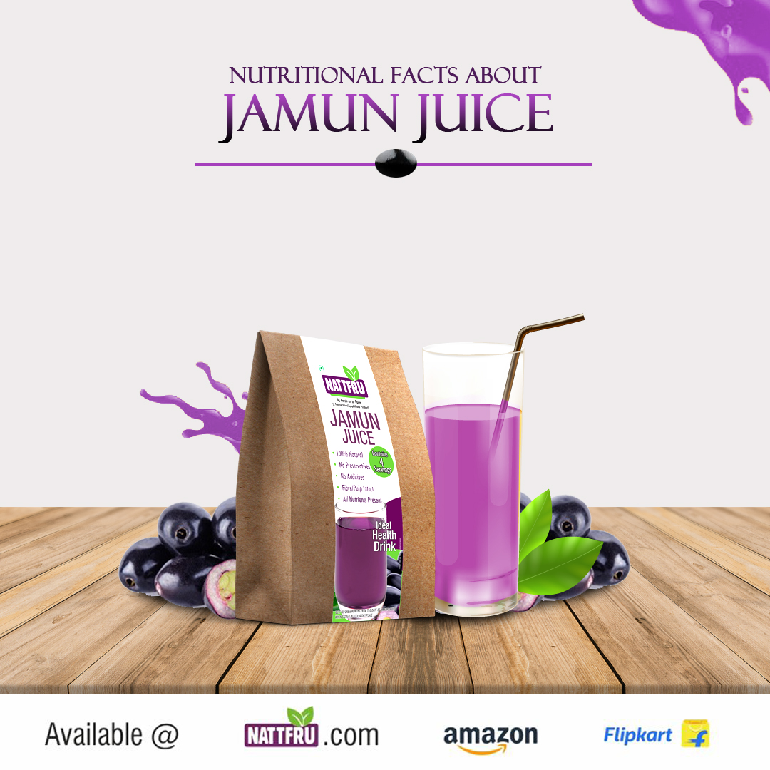 Nutritional Facts about Jamun Juice