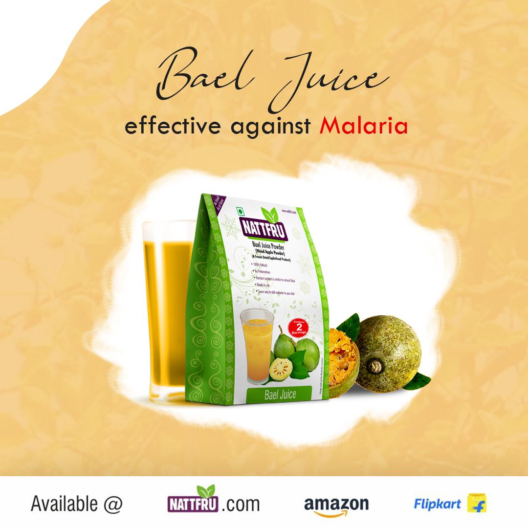 Bael Juice effective against Malaria