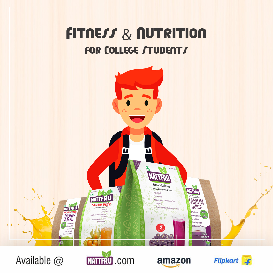 Fitness and Nutrition for College Students