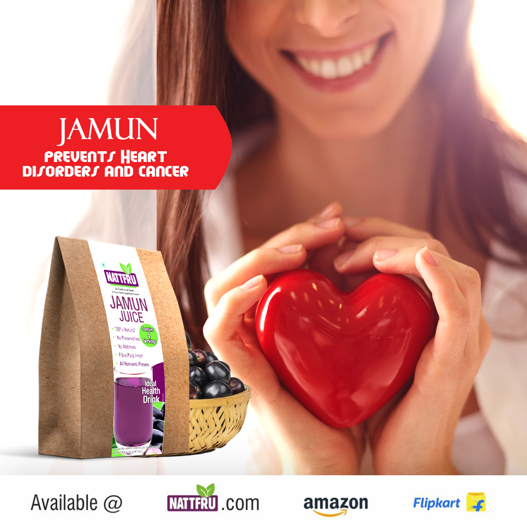 Jamun prevents from Heart Disorders and Cancer