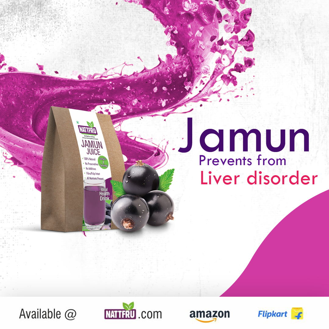 Jamun prevents from liver disorders