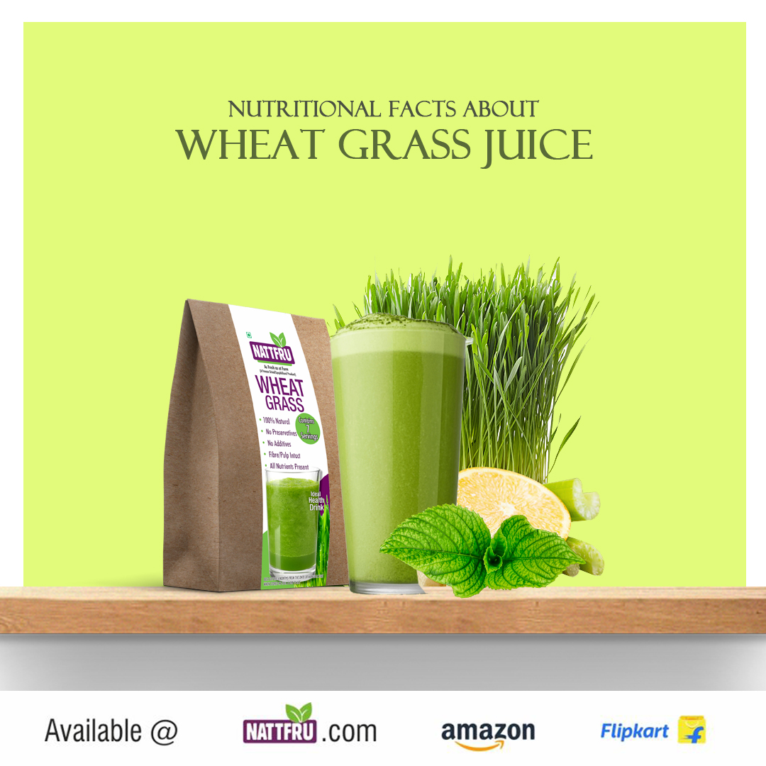 Nutritional Facts about Wheat grass
