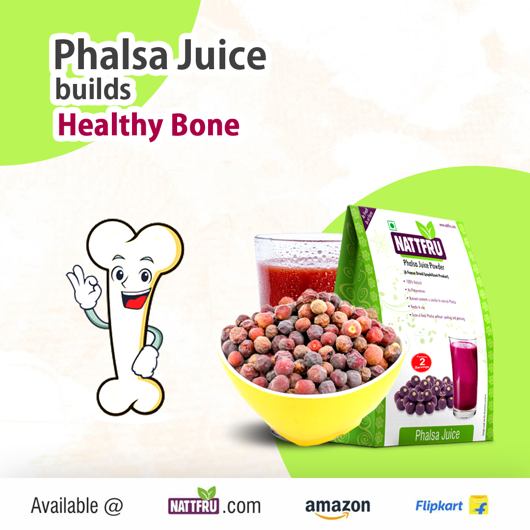 Phalsa Juice builds Healthy Bone
