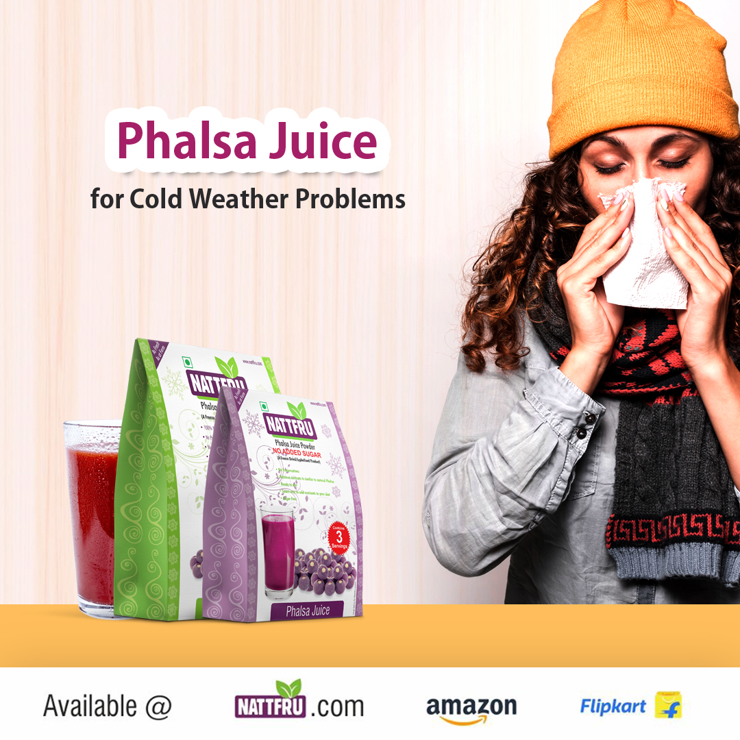 Phalsa Juice for Cold Weather Problems