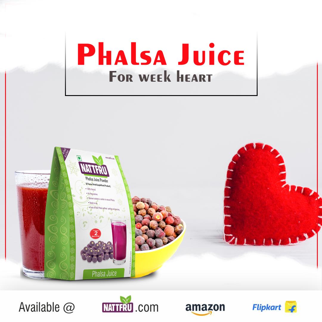 Phalsa Juice for Weak Heart