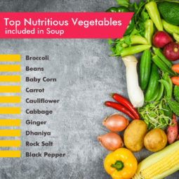 freeze dried vegetable soup